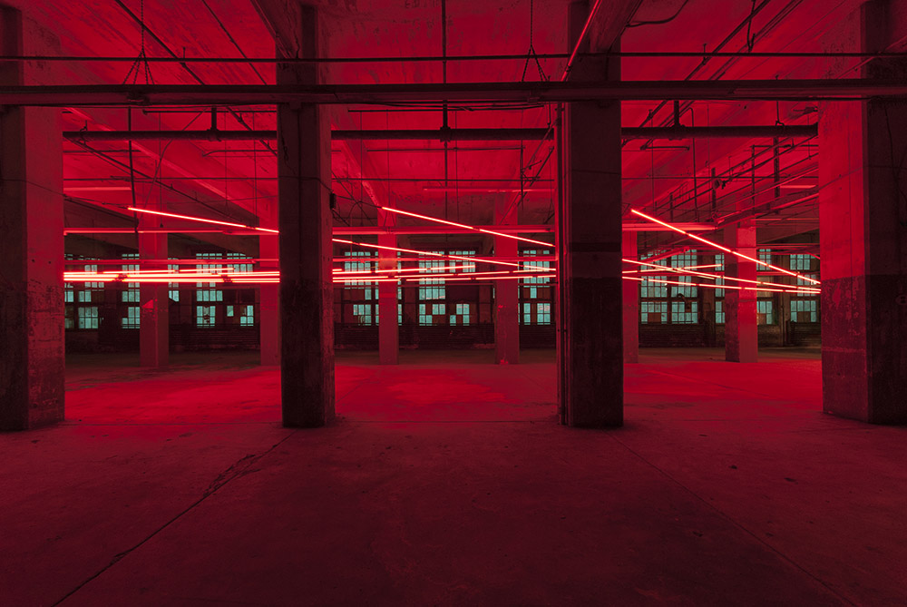 Keith Lemley, Supra Force, 2014, neon, dimensions variable . Courtesy of the artist.
