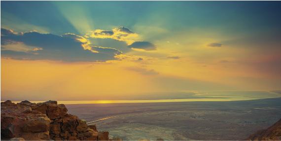 israel-sunset