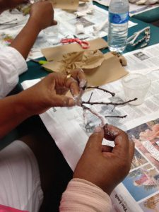 Catherine Butler's Free Art Class at Circle Health Services
