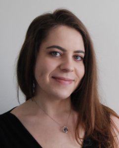 Panelist Elizabeth Carney, assistant curator at the Akron Art Museum